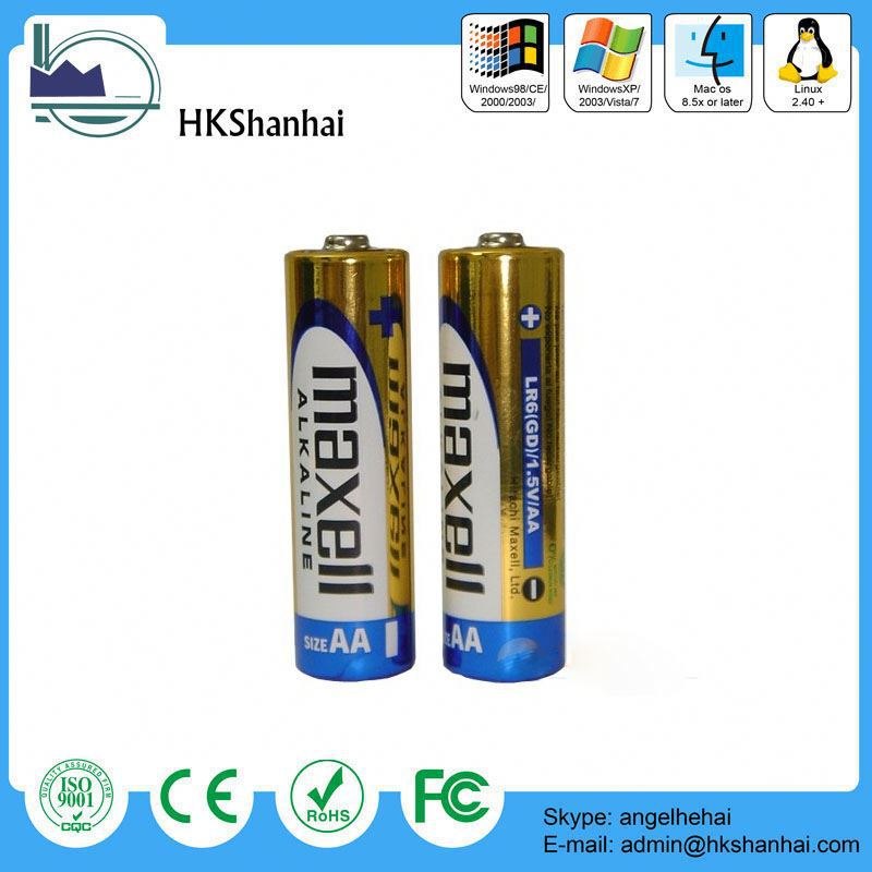 hot sale excel alkaline battery / alkaline aa battery manufacturer in china