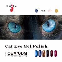 Miss Gel chameleon uv gel cat eye gel nail salon supplies