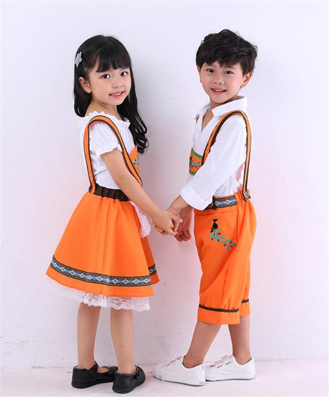 Germany Beer Festival Waiter Cosplay Costumes Boys And Girls Costumes Traditional Clothing The Stage Costumes