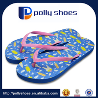 China Rubber Slipper And Sandal Customized Logo Printed