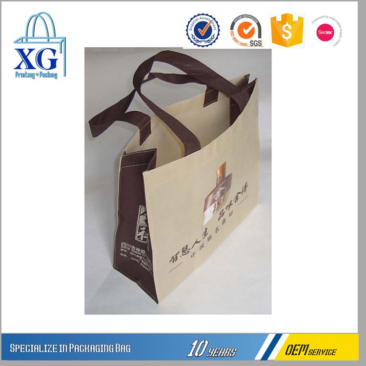 Latest product different types leisure green eco friendly non woven bag