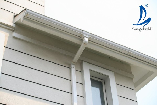 Malaysia Pvc Gutter Price Pvc Rain Pipe Roof Gutter