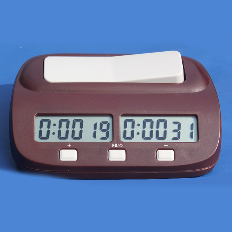 Professional chess game clock digital chess timer clock factory