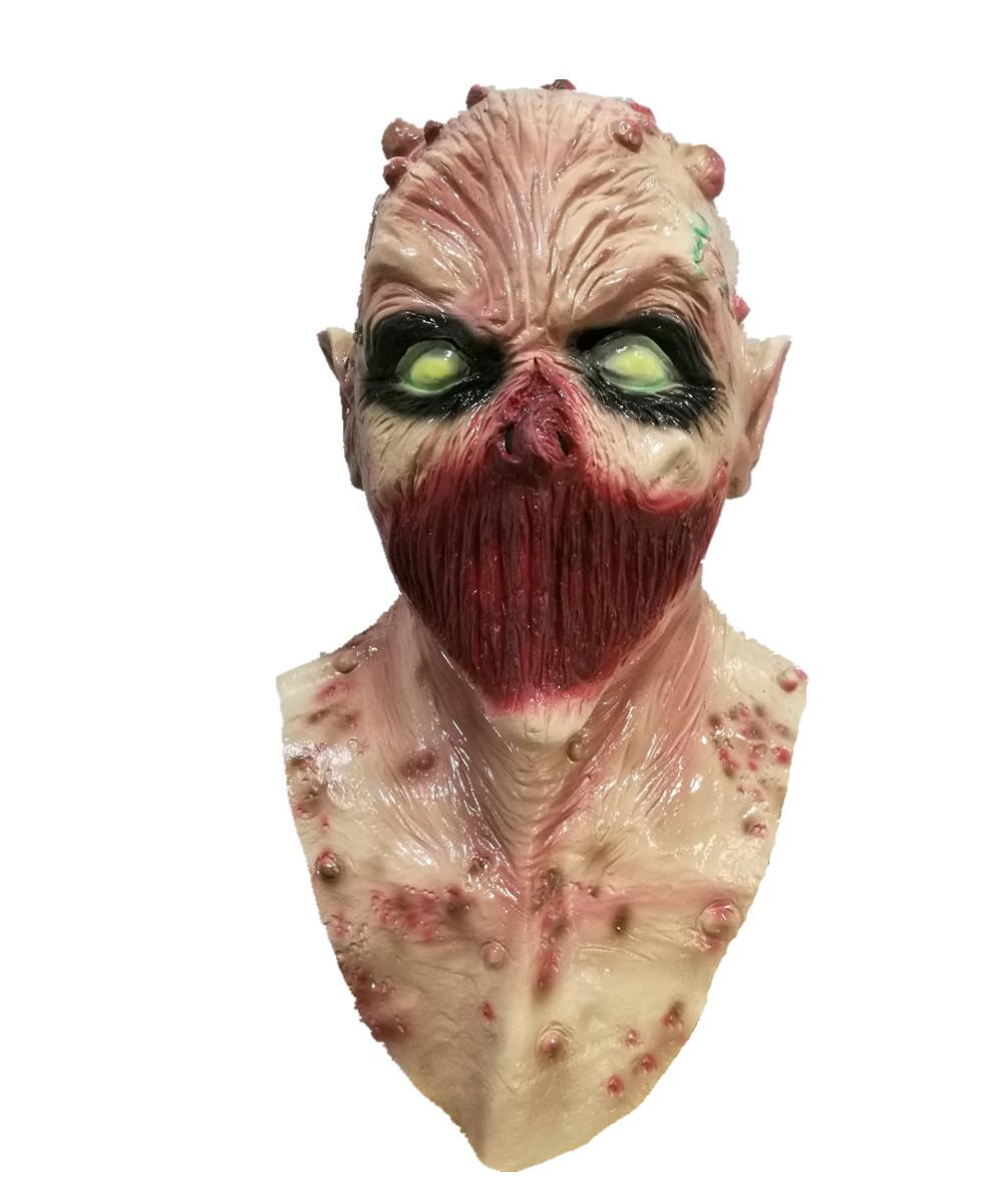 Popular Rubber Super Bloody Zombie Mask Scary Vampire Halloween Costume ,  Buy Scary Halloween Mask,Bloody Halloween Mask,Latex Scary Halloween Mask