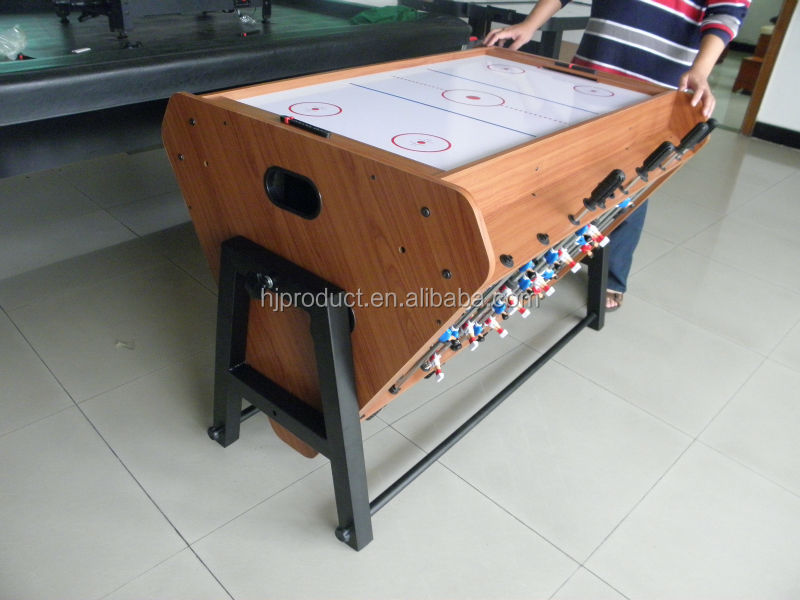 Good Modern Design Rolling Multi Functions Soccer Table Pool Table Air Hockey  Table 3 In 1 Multi