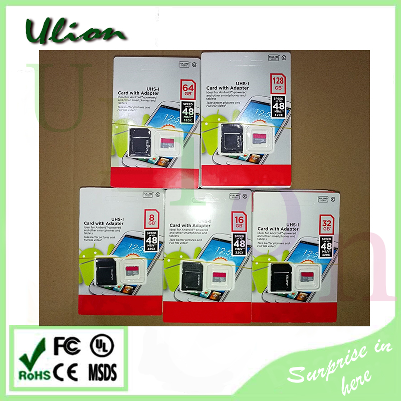 Real Full Capacity High Speed 2GB 4GB 8GB 16GB 32GB 64GB 128GB 256GB TF Memory SD Card For Mobile Phones And Camera