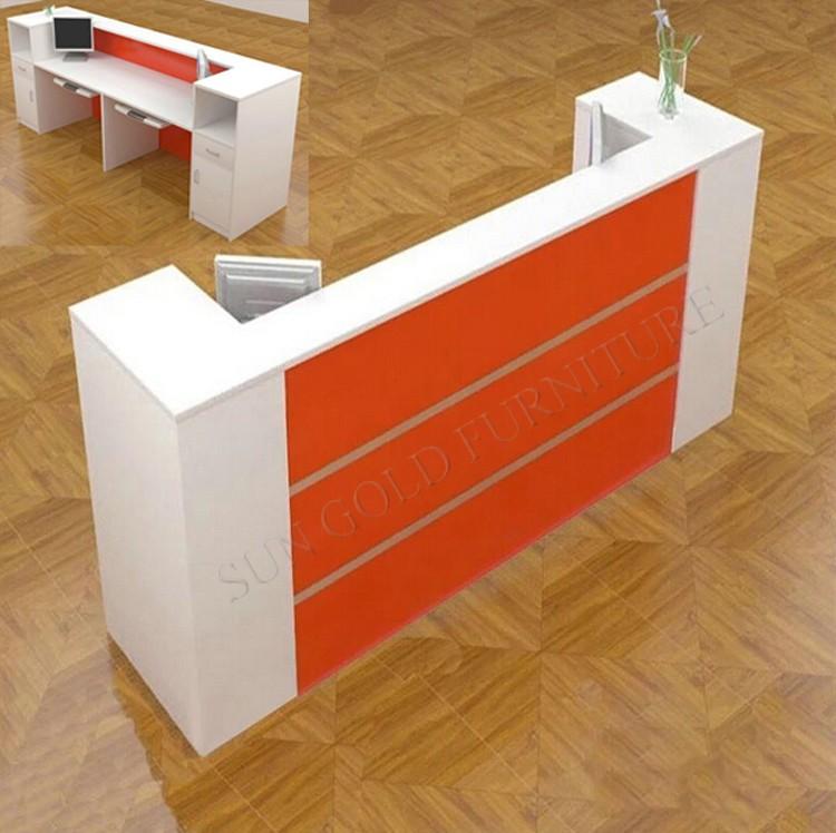 Reception Desk In Dubai, Shop Counter Table Front Desk Table Price Design  (SZ
