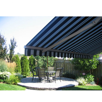 Retractable Awning Outdoor Two Sides Garden