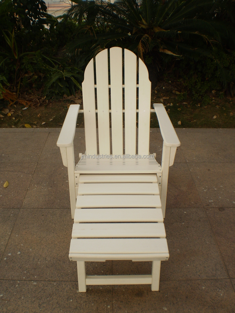 Plastic Wood Chair And Table Outdoor Ploywood Furniture