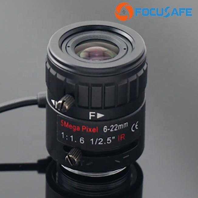 5 Megapixel CCTV Lens 6-22mm with 1/2.5