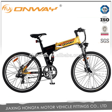 26 inch folding 9 Spd sport electric mountain bicycle price