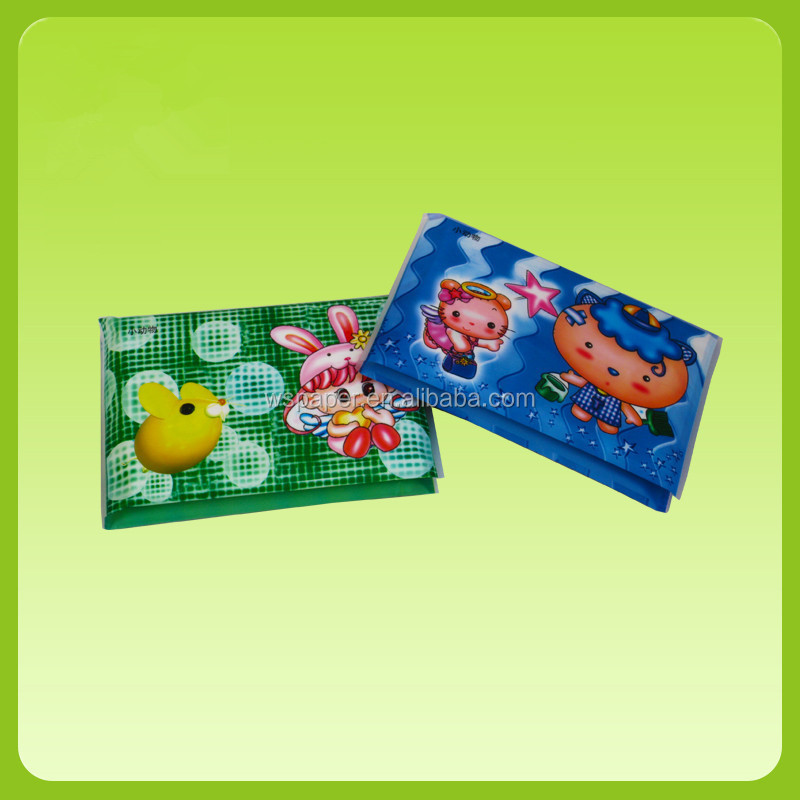 customize soft wallet pocket tissue mini pack advertising wallet tissue