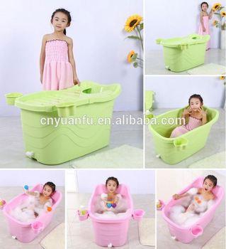 Plastic Free Standing Bathtub For Baby Mini Plastic Bath Tub