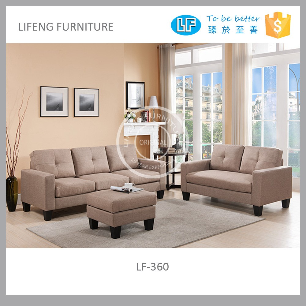 Cheap Fabric Sofa Sets For Small Apartment,Lf-360