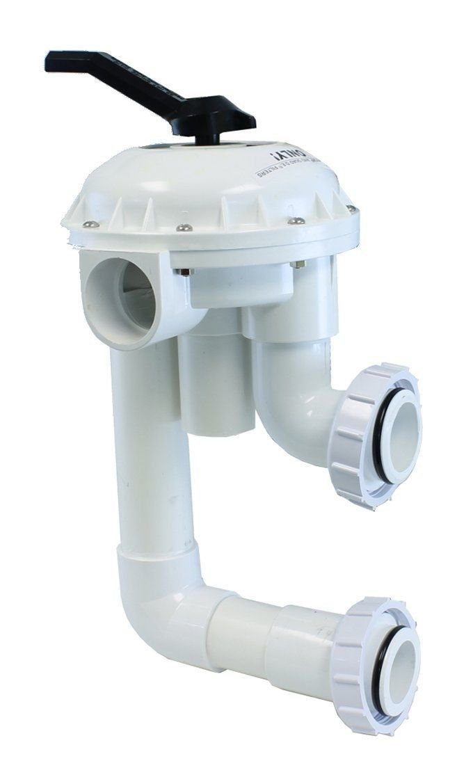 "Pentair 2"" Multiport Hi-Flow 261050 Valve 7.5"" Centers for Triton Sand Filters __#G451YH4 51IO3422600"