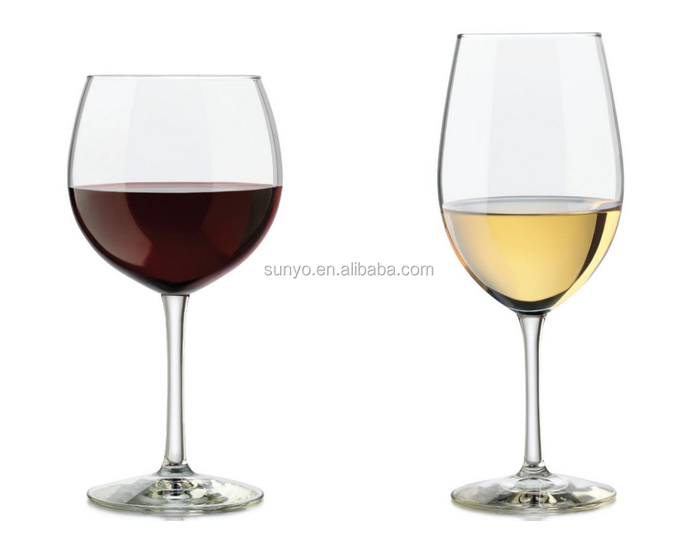 Wholesale hand blown giant wine glass tableware buy Large wine glasses cheap