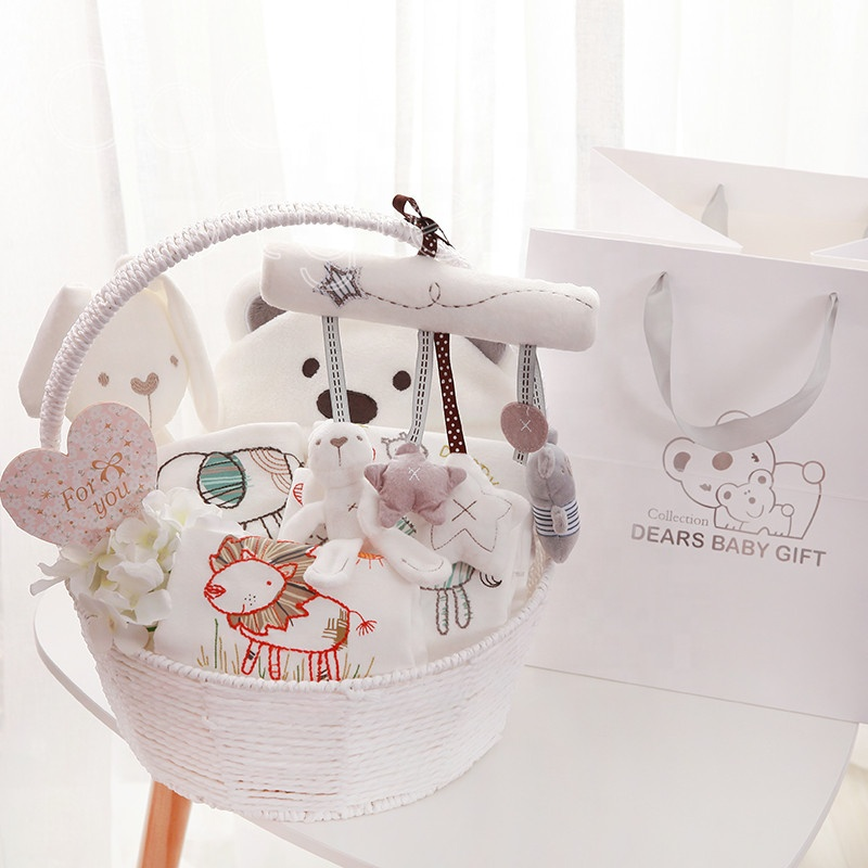 Cocostyles bespoke premium exquisite <strong>baby</strong> shower <strong>gift</strong> baskets <strong>baby</strong> favors <strong>gift</strong> <strong>sets</strong> for newborn <strong>baby</strong> girl boy <strong>gift</strong>