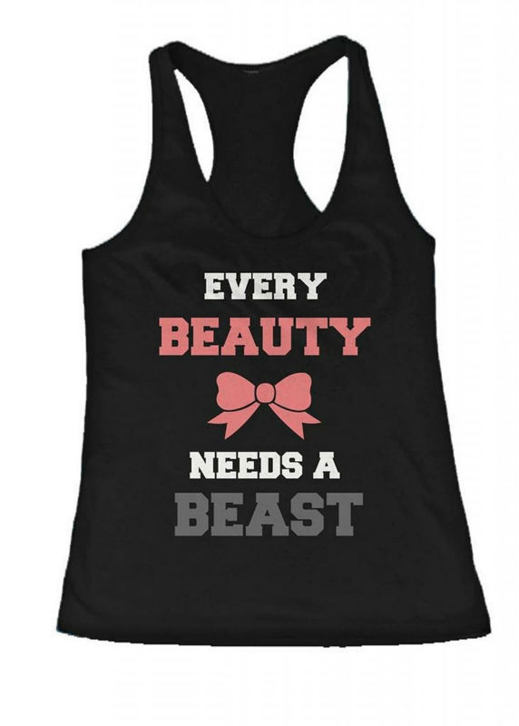 New Design Beauty And Beast Need Each Other His And Her Matching ...