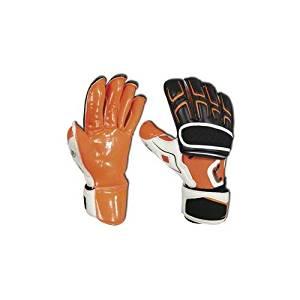 New Cutters Pro Fit 025i Indoor C-Tack Soccer Goalie Goal Keeper Gloves  Orange d9ad6ee35482