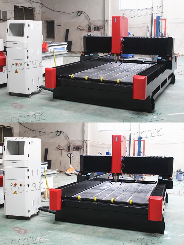 High quality Marble granite stone cnc cutting router manufacturer AKS1325