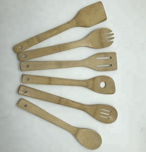 Hot selling engraved bamboo spoon