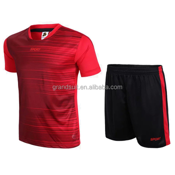 9fc63dece79 hot selling custom made soccer jersey set blank design cheap football shirt  uniform in stock wholesale