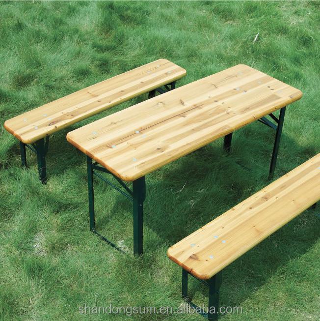 Amazing Outdoors European Biergarten Table And Bench Set Gallery ...