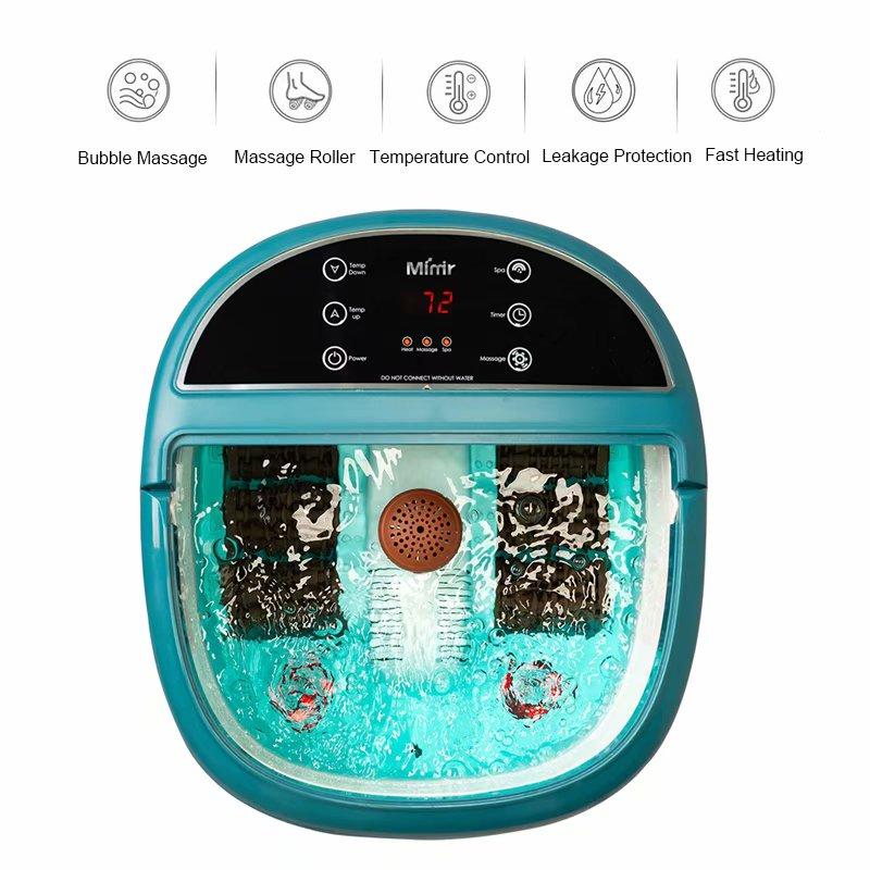 Wholesale electronic portable heated shiatsu vibrating foot Spa massagers with KC&ETL Certificate