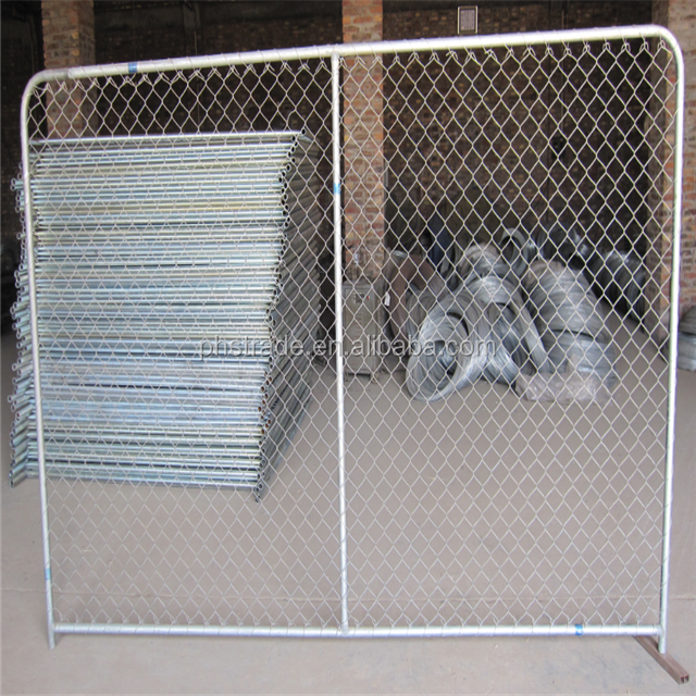 cheap 1.8m*2.07m cattle yard metal fence panels posts