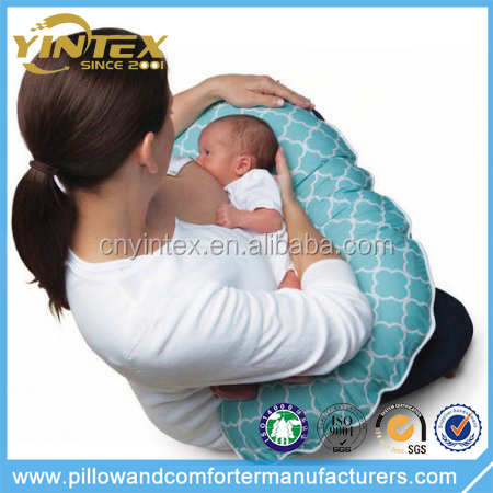 Yintex 100% cotton baby feed slipcover boppy nursing pillow