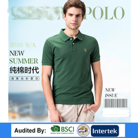 2017 New OEM hot sale golf Top brand Mens active knits mesh polo shirt dry fit polo shirt jersey chinese factory