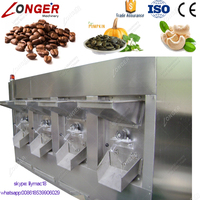 Factory Sale Top Quality Industrial Seeds Cocoa Bean Peanut Roaster Machine Nuts Roasting
