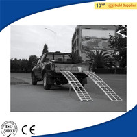 "89"" Arched Aluminum 4-Wheeler Quad ATV Loading Ramps, Folding Snowblower Semi Truck Loading Ramp for Sale"