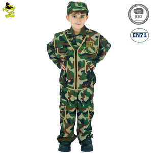 0a7f7af62d9 Carnival party dress children Camouflage soldier costumes child army  military uniform