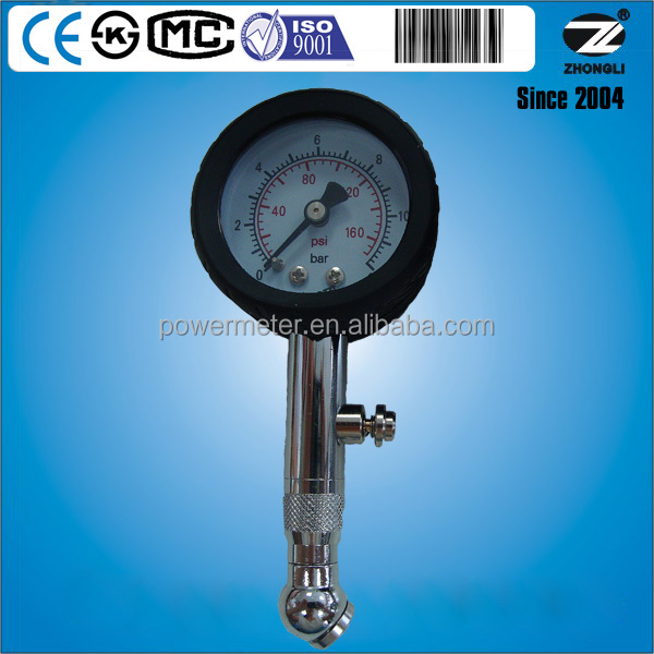 diameter 40mm tire pressure gauge manometer for sale by 10 years manufacturer with CE certificate
