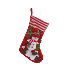 Personalized Santa Plush Snowman Christmas Stockings