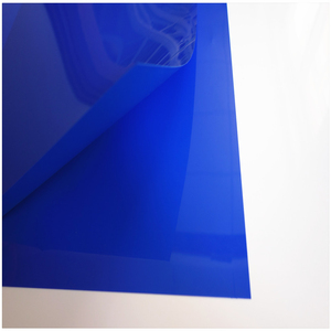 Flexible mirror pp plastic sheet roll with custom size