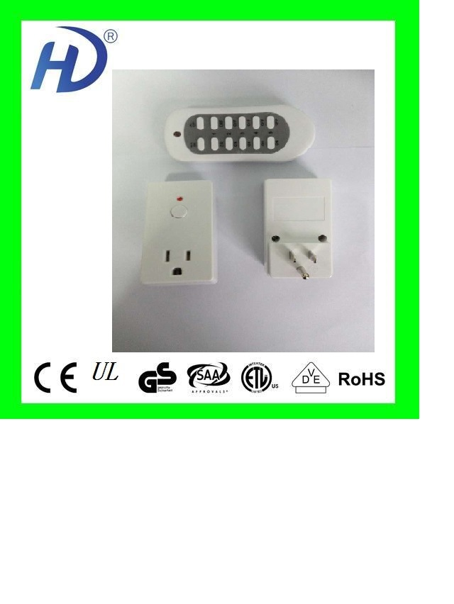 3 Pack 2015 New Model America Plug Wireless Remote Control Ac ...