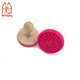 Custom Wooden handle Silicone Cookie Stamp Sugarcraft Tool Cake Decorating Random Color