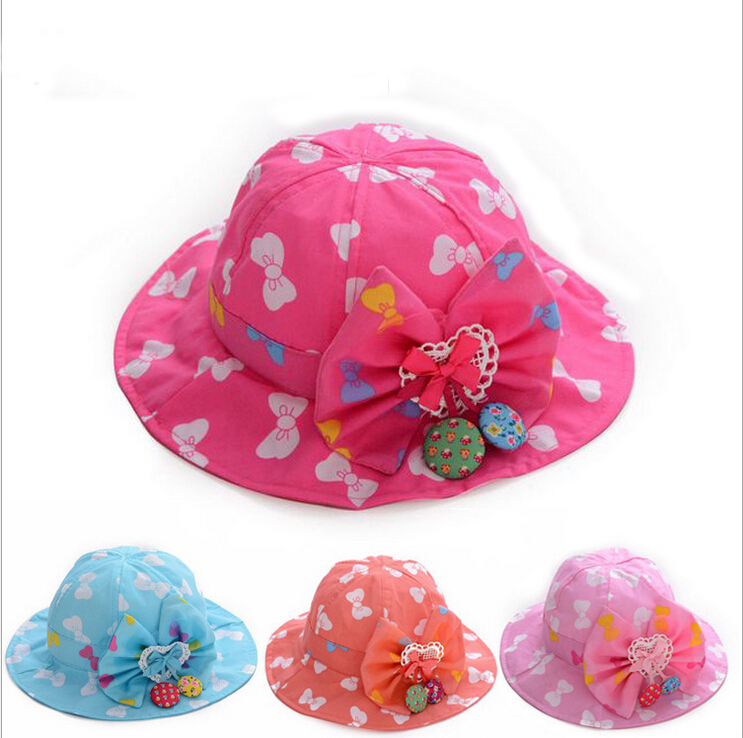 044085dd320e27 Get Quotations · Toddler Infant Floral Sun Cap Bucket Hat Summer Spring  Autumn Outdoor Baby Girl Hats Sun Beach