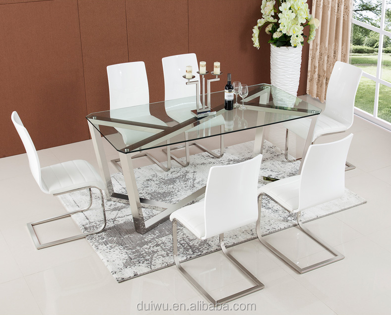 Wholesale german 201 stainless steel modern dining room for Dining room in german