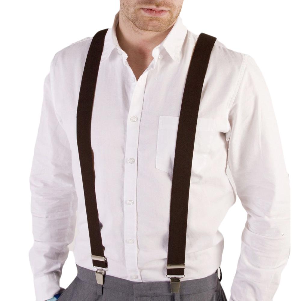 3cb7bf67b Detail Feedback Questions about Fashion Women Men s Unisex Clip on Braces  Elastic Slim Suspender Y Back Suspenders Male Pants Jeans Braces 20 Colors  ...