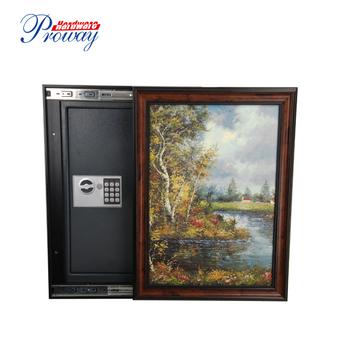 Rohs Approval Painting Frame Hidden Wall Safe Buy Hidden Wall
