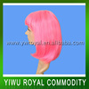 Factory Sale Cute Pink Synthetic Barbie Hair Wigs