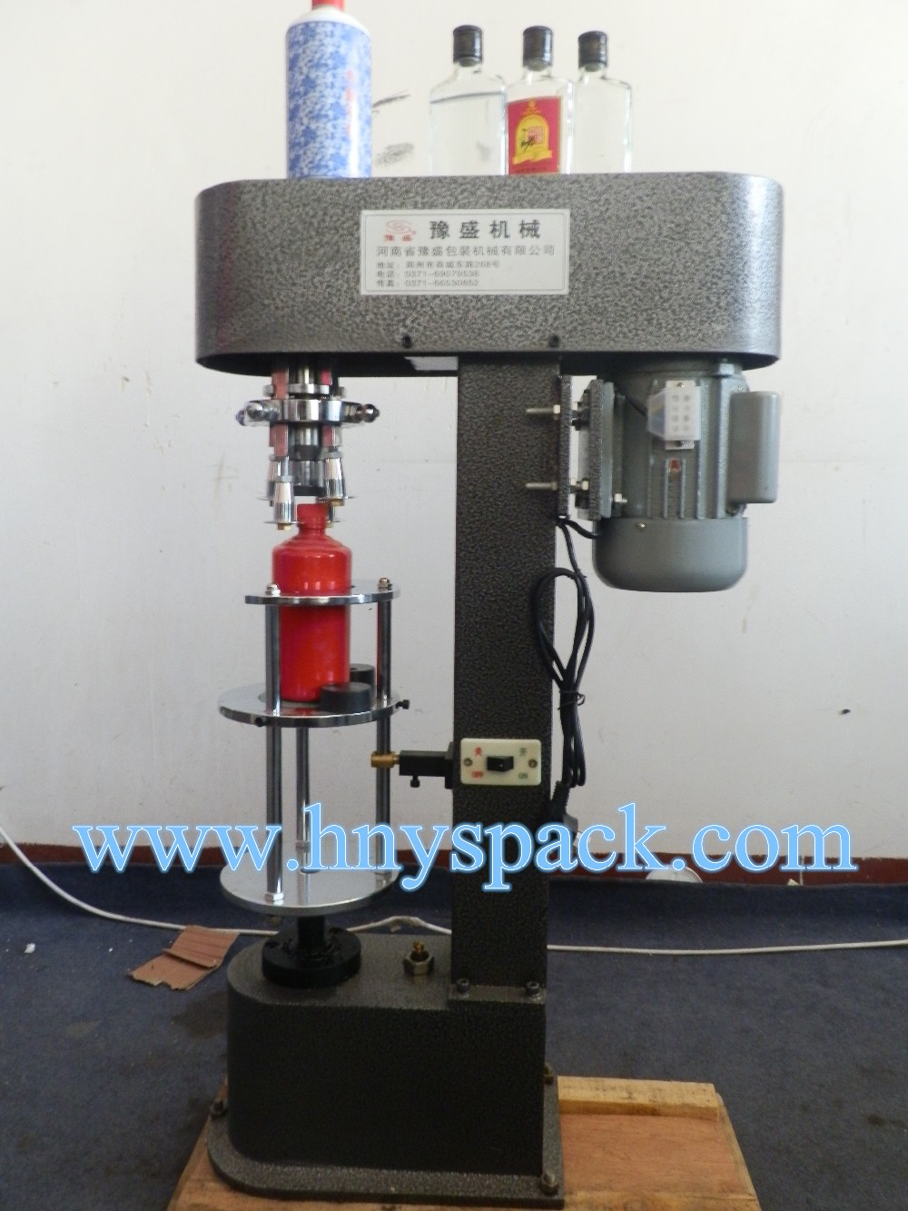 semi automatic ropp capping machine