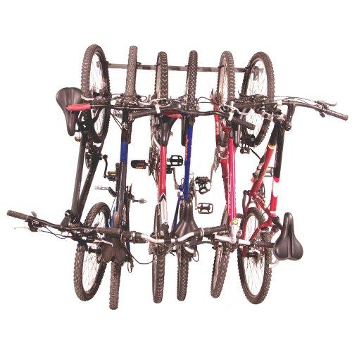 Monkey Bars Wall Bike Storage Rack (Holds 6 Bikes)