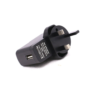 For iPhone Samsung Universal UK Plug Wall Charger Adapter 5V/1A 2A 1000MAH High Quality Cell Phone USB Charger UK Specification