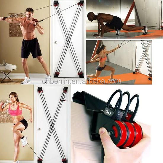 Indoor Sports Products Door Fitness Total Body Gym Set Weider X-Factor