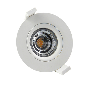 High Quality Dim 2 warm 83 Cutout 9W Gyro Led Cob Downlight With 5year Warranty