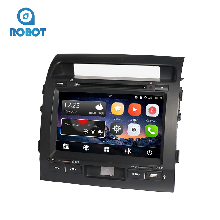 Top Selling Android Car DVD VCD CD MP3 MP4 Player Fit For Toyota Land Cruiser With GPS
